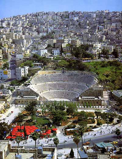 Amman Panorama - Downtown