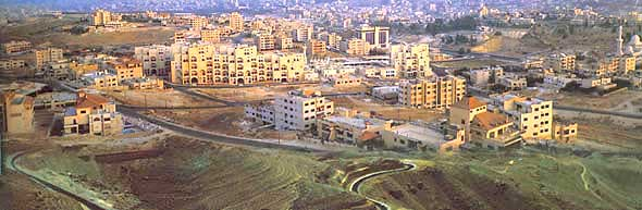 The Colorful Hills and Houses of Amman
