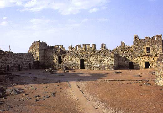Ruins of Azraq Fort
