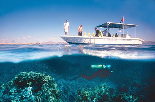 Scuba Diving in The Gulf of Aqaba. Aqaba's climate makes it a refreshing ...