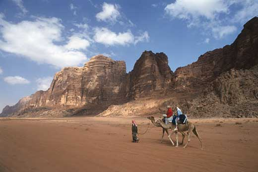 Camel Riding at Wadi Rum